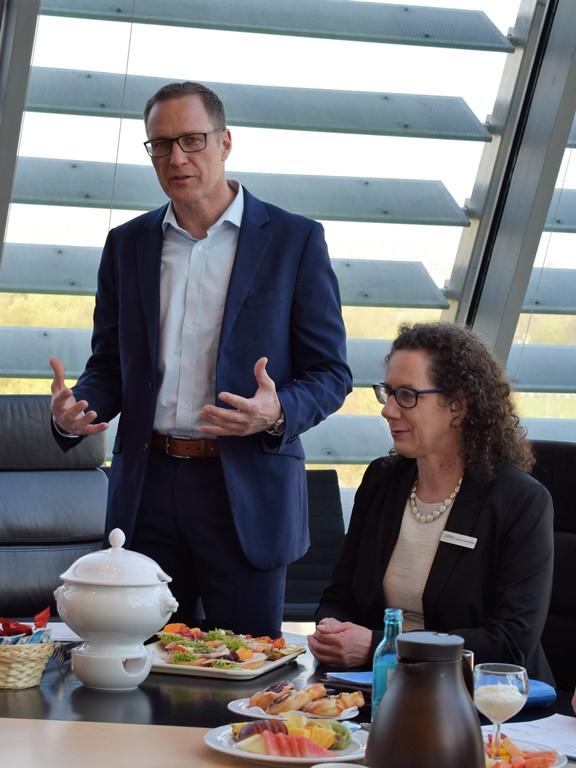 Dr. Roy Kühne und Christiane Sautter-Müller, LOGO Deutschland