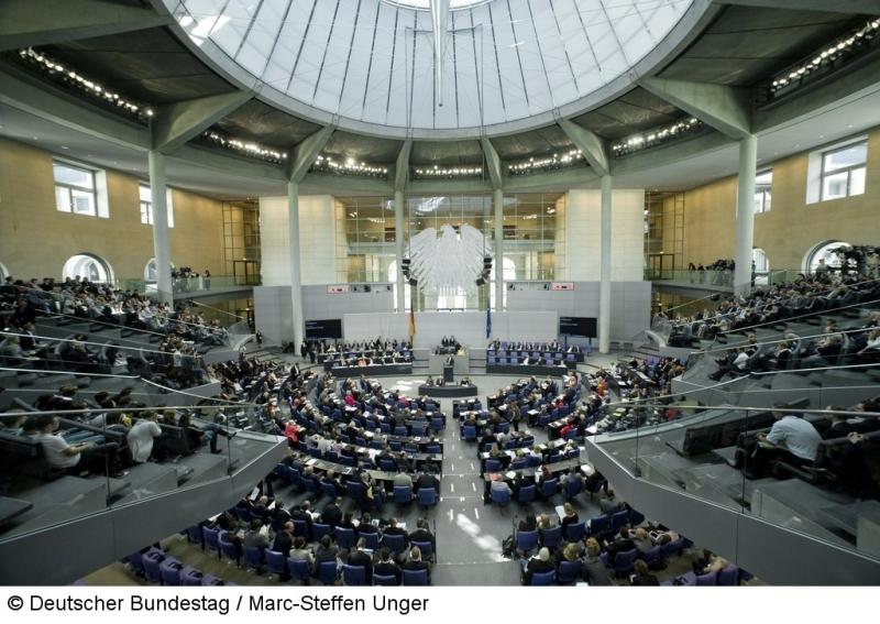 Plenarsaal, Bundestag