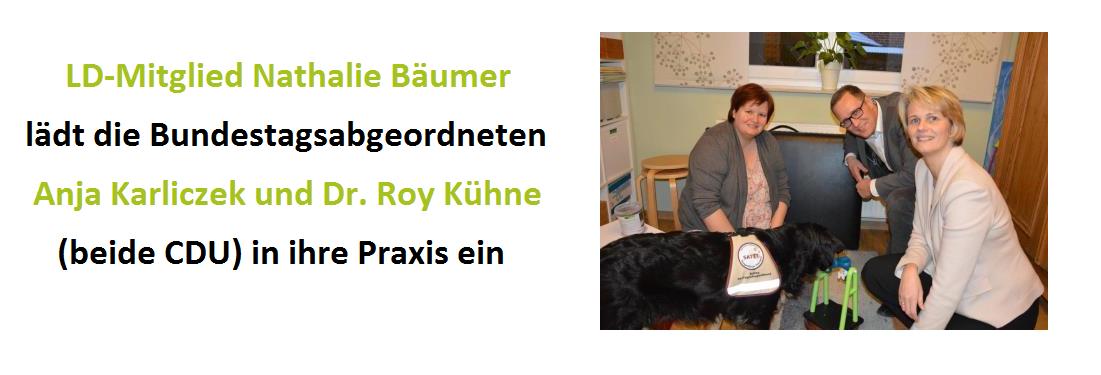 Slider Bäumer Karliczek Kühne