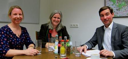 Susanne Schneider bei MdB Hartmann