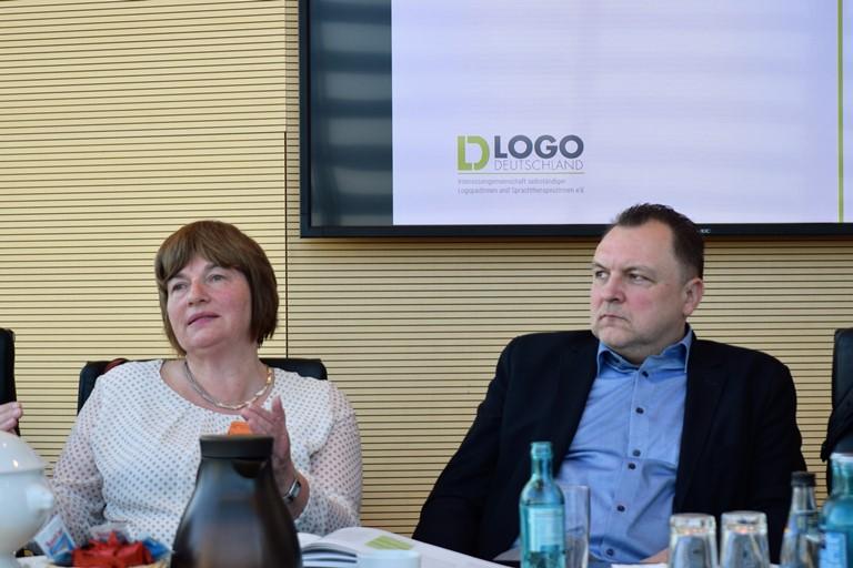 Katrin Schubert und Volker Gerrlich dbs